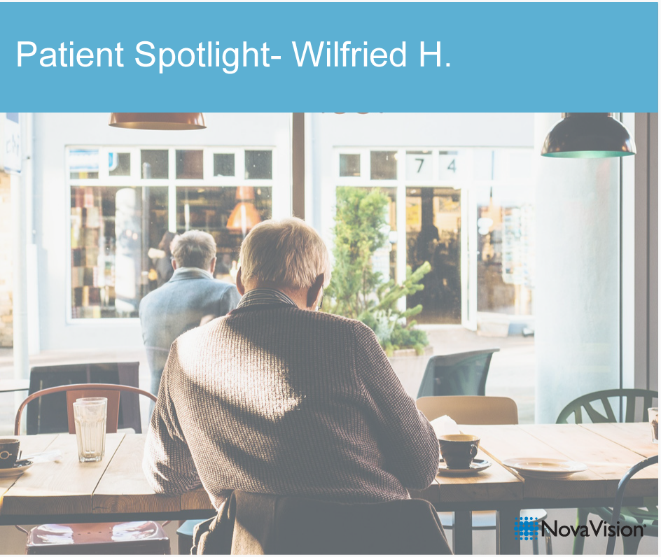 Patient Spotlight: Wilfried H.