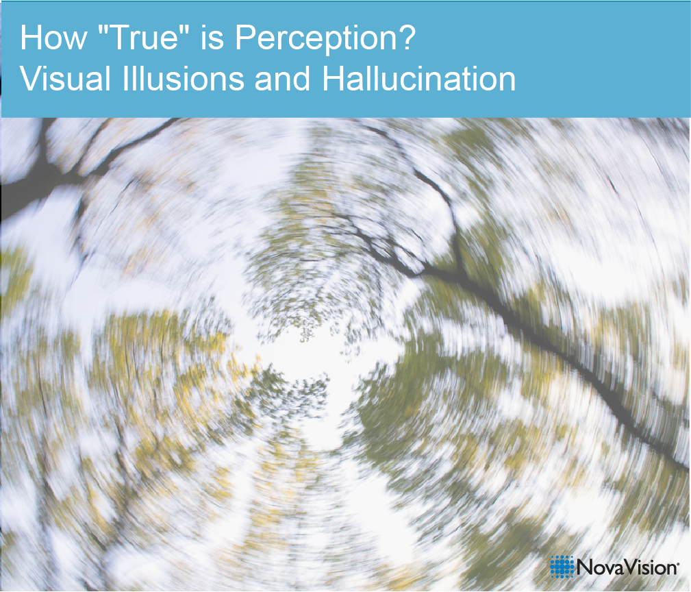 """How """"true"""" is perception? Visual illusions and hallucination"""